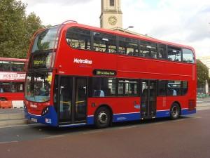 A Double-Decker in London