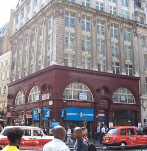 heathrow taxi transfer to oxford circus station